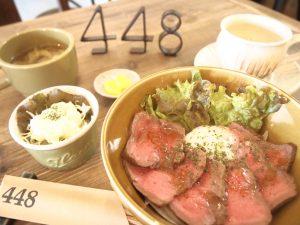 Bランチ:ローストビーフ丼