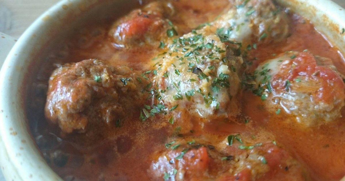 スペイン料理・肉団子のトマト煮込み